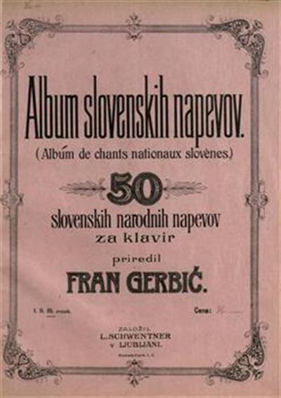 Album slovenskih napevov. Zvezek 3; 50 slovenskih narodnih napevov za klavir; Album de chants nationaux slovenes