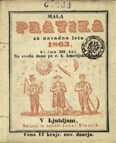 Mala pratika; Za navadno leto 1863