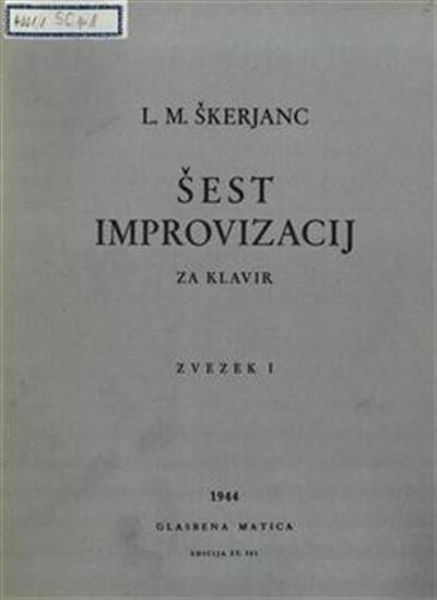 Šest improvizacij za klavir