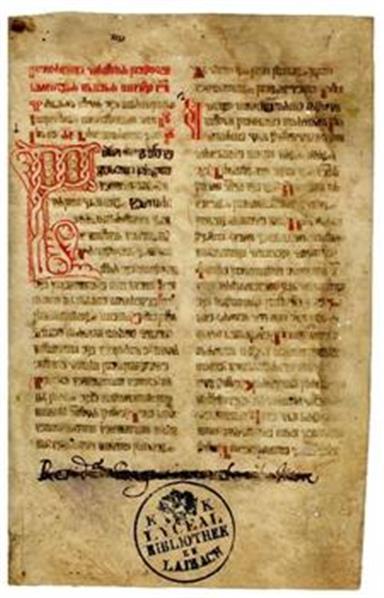 Glagolski liturgični zbornik, pergament, hrvaška redakcija