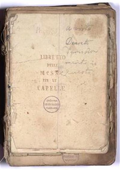 Knjiga Lovranskega kapitlja in dvolist iz lovranske kapiteljske knjige; izvirna in delovna kopija