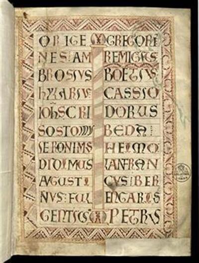 Expositio epistolarum; Epistolae