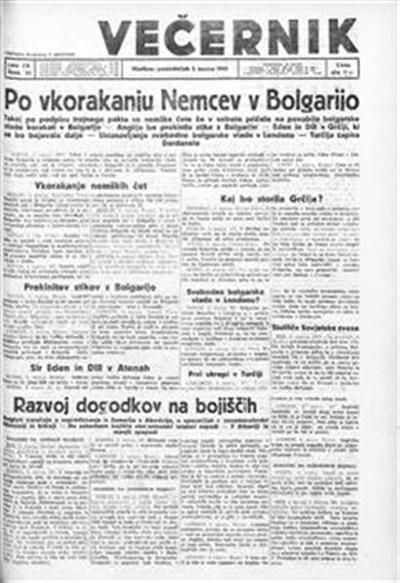 Mariborski večernik Jutra