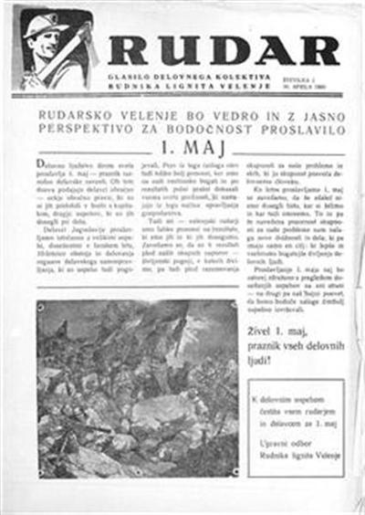 Rudar: glasilo delovnega kolektiva Rudnika lignita Velenje
