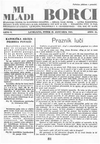 Mi mladi borci; stanovski tednik za slovensko dijaštvo