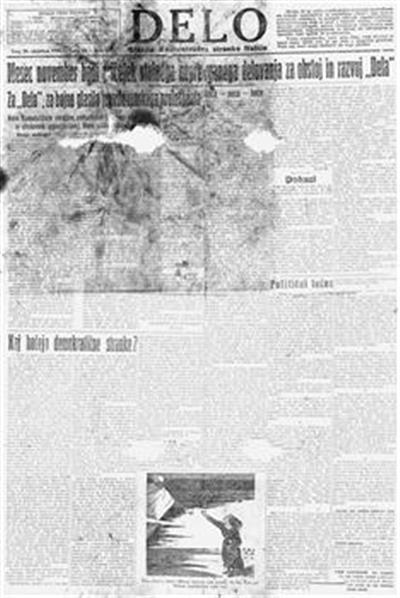 Delo: glasilo Socialistične zveze v Julijski Benečiji