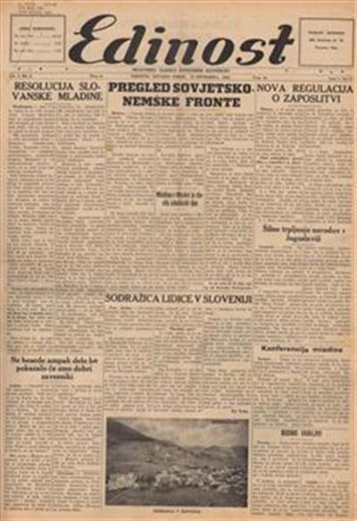 Edinost: neodvisno glasilo kanadskih Slovencev