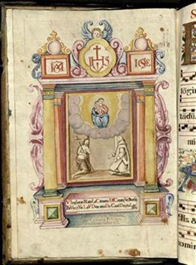 Antiphonarium hyemale, pro Cartusia Freidenthallensi elaboratum
