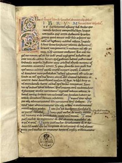 Liber de sacramentis christianae fidei (vol. I, 1a–131b, vol. II, 1a–187b)