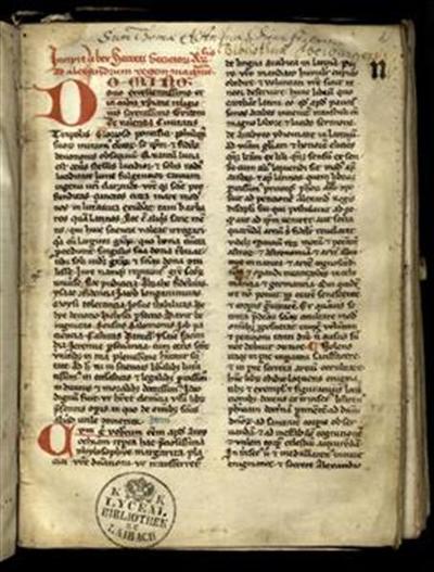Liber secreti secretorum Aristotilis ad Alexandrum regem Magnum (2a–14a)
