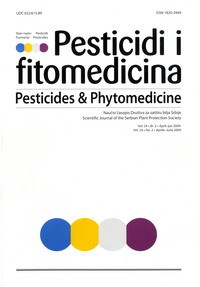 Phytotoxic effects of fungicides, insecticides and nonpesticidal components on pepper depending on water quality