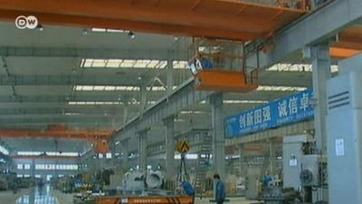 Китай выбился в передовики машиностроения