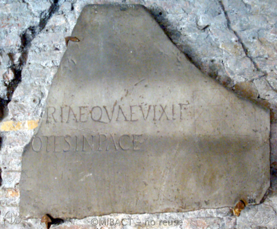 Inscription from Rome - ICVR I, 1083