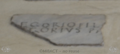 Inscription from Rome, Coemeteria inter s.Felicitatem et viam Anapo - ICVR IX, 23849