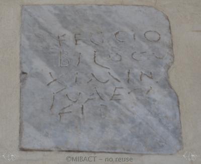 Inscription from Rome, Coem. Bassillae ad s.Hermetem - ICVR X, 27073