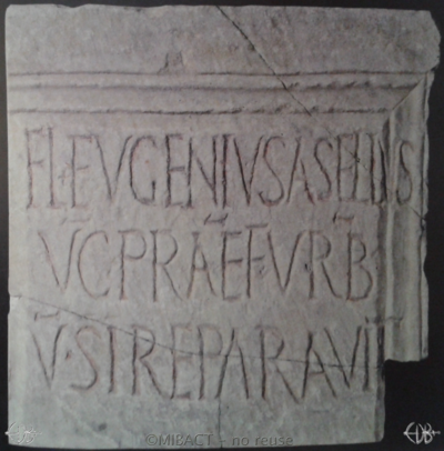 Inscription from Rome, Basilica s.Pauli apostoli - ICVR II, 4789