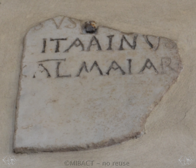 Inscription from Rome - ICVR I, 679