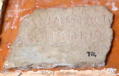 Inscription from Rome, Coem. Cyriacae ad s.Laurentium - ICVR VII, 17567