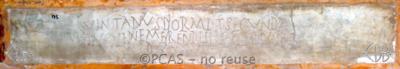 Inscription from Rome, Coem. Cyriacae ad s.Laurentium - ICVR VII, 17996