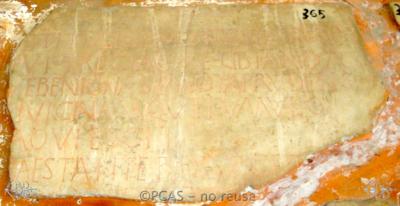 Inscription from Rome, Coem. Cyriacae ad s.Laurentium - ICVR VII, 18160