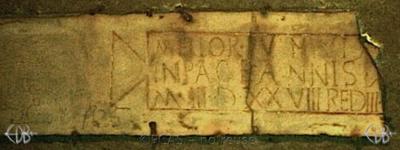 Inscription from Rome, Coem. s.Agnetis - ICVR VIII, 21192
