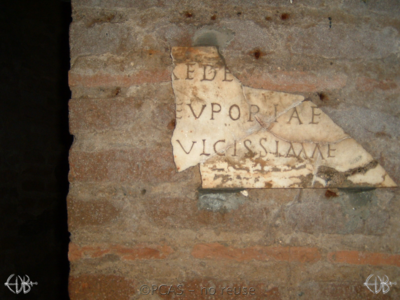 Inscription from Rome, Coem. Priscillae - ICVR IX, 25138