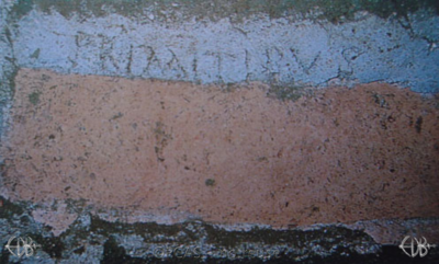 Inscription from Rome, Coem. Priscillae - ICVR IX, 25447