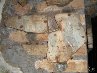 Inscription from Rome, Coem. Priscillae - ICVR IX, 25448