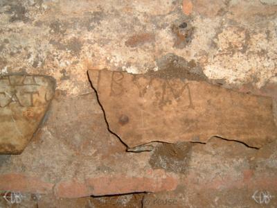 Inscription from Rome, Coem. Priscillae - ICVR IX, 25815.c