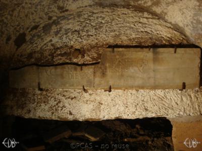 Inscription from Rome, Coem. Domitillae pars inferior - ICVR III, 7137