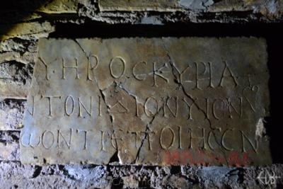 Inscription from Rome, Coem. Domitillae pars inferior - ICVR III, 7226