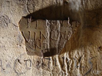 Inscription from Rome, Coem. Domitillae pars superior - ICVR III, 7940.l