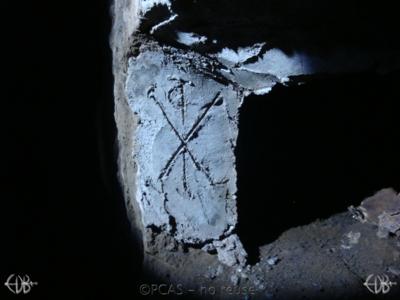 Inscription from Rome, Coem. Domitillae pars superior - ICVR III, 8094.e