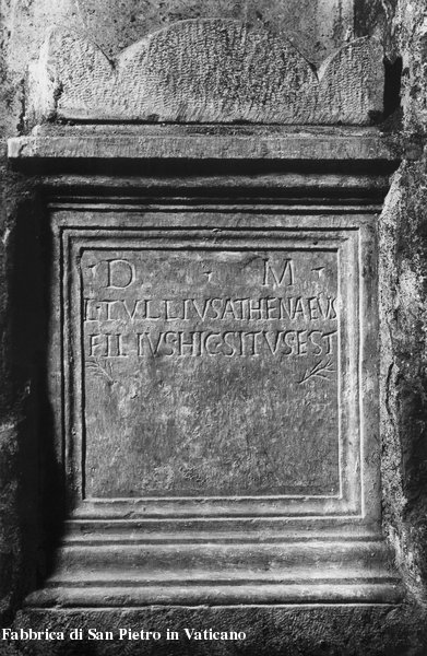 Inscription from Roma