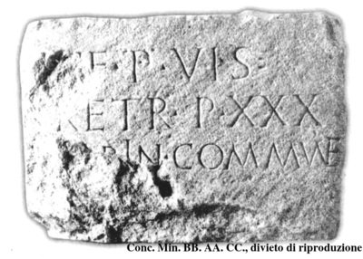 Inscription from Altinum