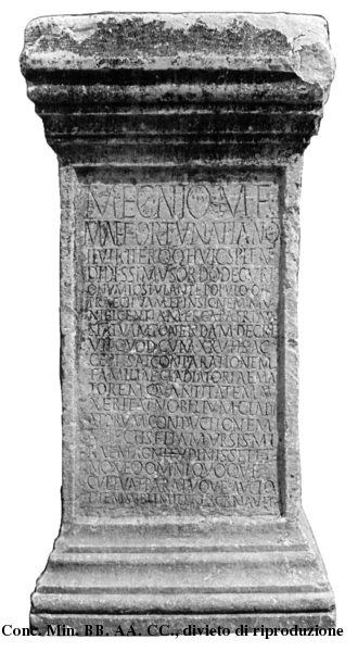 Inscription from Paestum