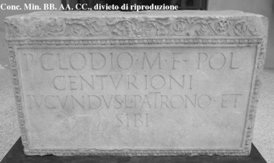 Inscription from Mutina