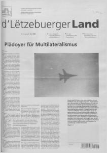 d'Lëtzebuerger Land - 2003-04-04
