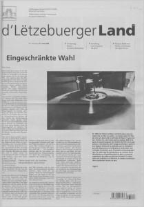 d'Lëtzebuerger Land - 2003-06-27