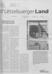 d'Lëtzebuerger Land - 2003-05-02