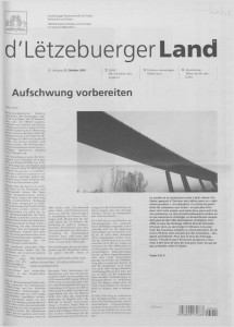 d'Lëtzebuerger Land - 2003-10-31