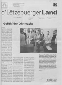 d'Lëtzebuerger Land - 2004-04-16