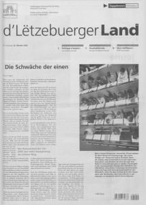 d'Lëtzebuerger Land - 2006-10-20