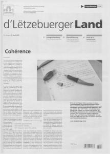d'Lëtzebuerger Land - 2007-04-27