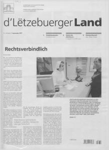 d'Lëtzebuerger Land - 2007-09-07
