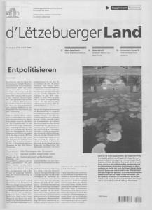d'Lëtzebuerger Land - 2007-11-09