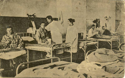 Atvirukas. Ligorių priežiura Kauno karo ligorinėje