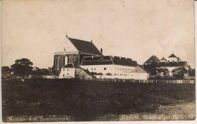 Atvirukas. Kaunas, Seminarijos Bažnyčia.
