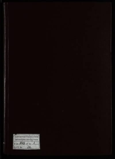 Jiezno RKB mirties metrikų knyga. 1914--1924 m.