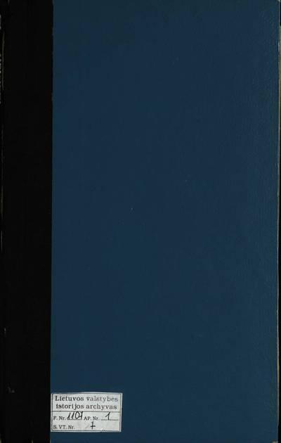 Vadoklių RKB mirties metrikų knyga. 1891--1917 m.